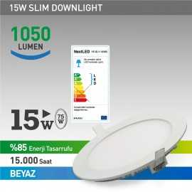 Next Led 15w Slim Panel
